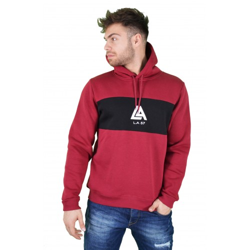 57207-3 LA57 SWEATSHIRT - BURGUNDY