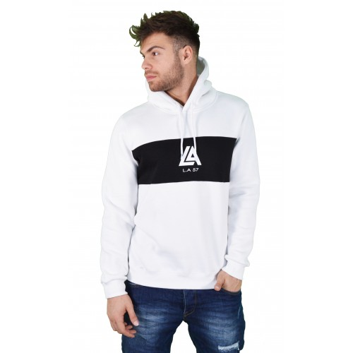 57207-2 LA57 SWEATSHIRT - WHITE