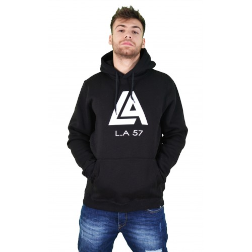 57212-1 LA57 SWEATSHIRT - BLACK
