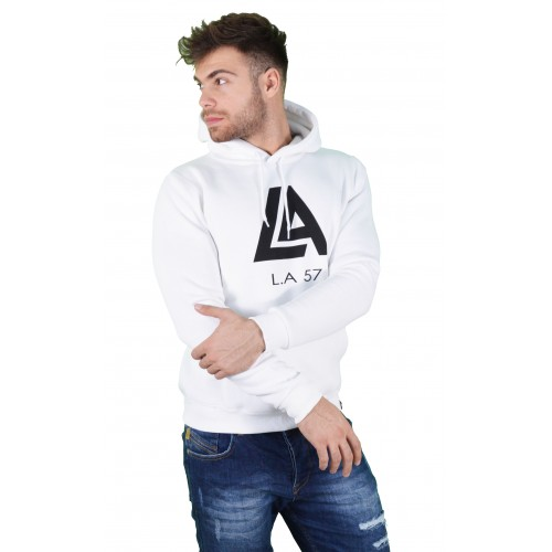 57212-2 LA57 SWEATSHIRT - WHITE