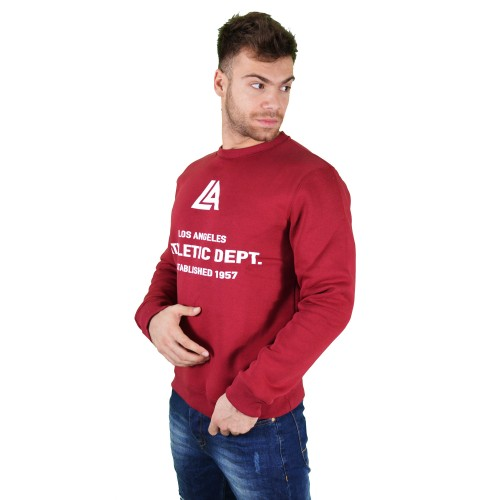 57125-3 LA57 SWEATSHIRT - BURGUNDY