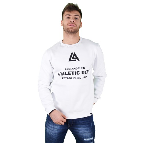 57125-2 LA57 SWEATSHIRT - WHITE
