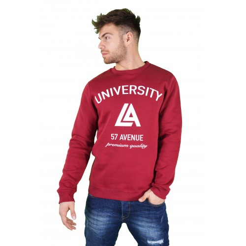 57123-3 LA57 SWEATSHIRT - BURGUNDY