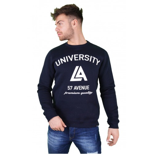 57123-4 LA57 SWEATSHIRT - BLUE