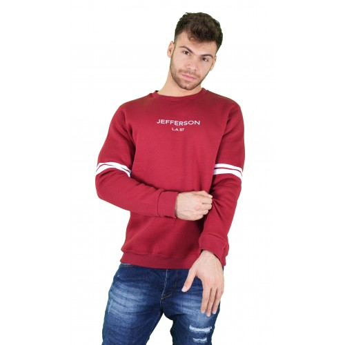 57119-3 LA57 SWEATSHIRT - BURGUNDY