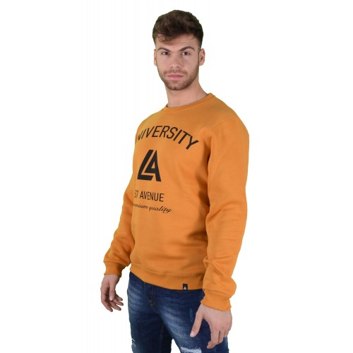 57123-6 LA57 SWEATSHIRT - YELLOW