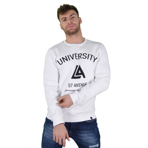 57123-2 LA57 SWEATSHIRT - WHITE
