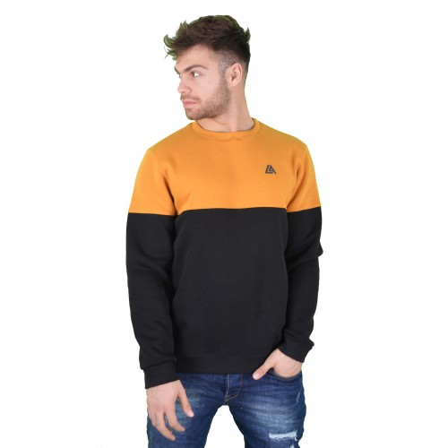 57120-6 LA57 SWEATSHIRT - YELLOW/BLACK