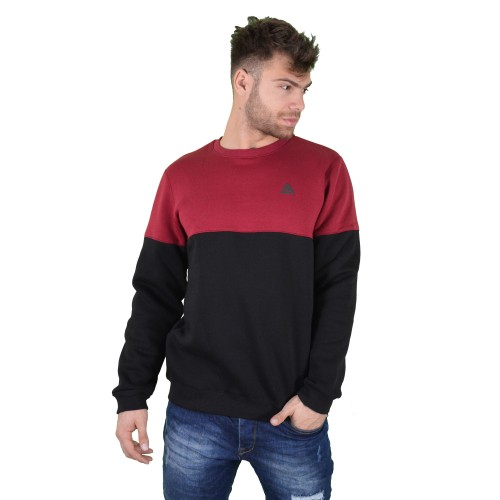57120-3 LA57 SWEATSHIRT - BURGUNDY/BLACK