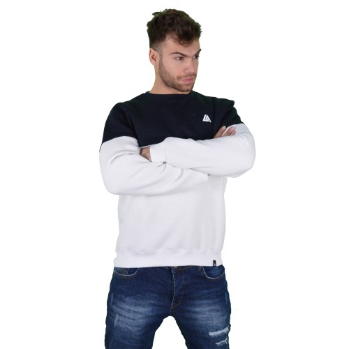57120-4 LA57 SWEATSHIRT - BLUE/WHITE