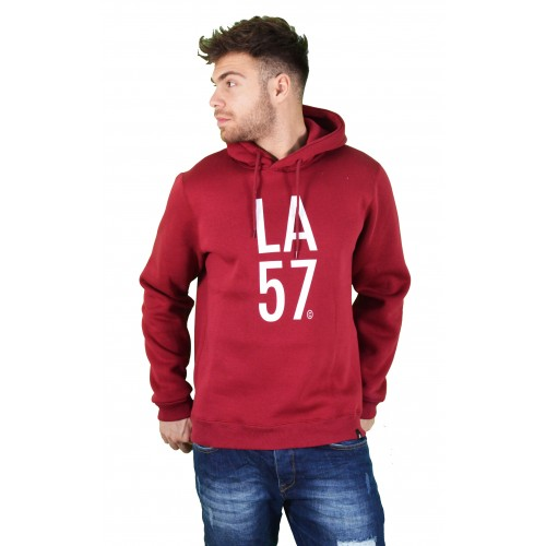 57211-3 LA57 SWEATSHIRT - BURGUNDY